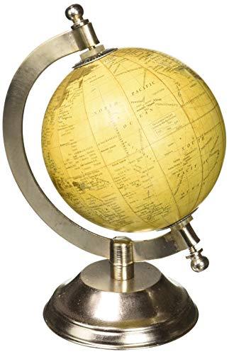 (IMAX 73025 Colony Globe With Nickel Finish Base)