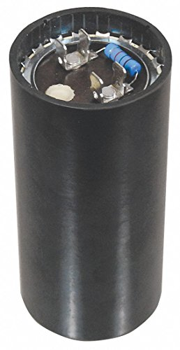 (Packard Round Motor Start Capacitor,216-259 Microfarad Rating,330VAC Voltage)