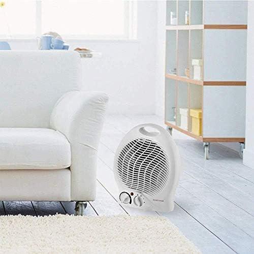 ZHWEI ヒーター、調節可能なサーモスタット、過熱保護、2ヒートセッティング1000-2000W ポータブル