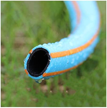 Garden Hoses HAIZHEN - 15mm High Pressure Braided Flexible Industrial PVC Tubing, Heavy Duty UV Resistant Water Hosepipe (Size : 15m)