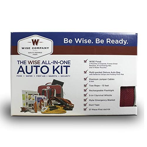 Wise Foods All-in-One Auto Kit, Red ()