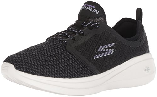 Run Fast Negro Go Lavender Black Invigorate Mujer Skechers15102 5Ha1wx