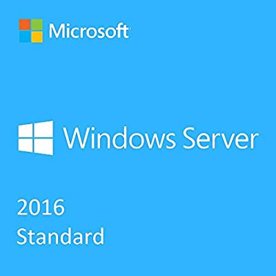 Microsoft Windows Server 2016 64 bit English Standard version with lifetime license,for PC download