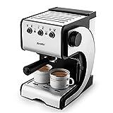 Barsetto Espresso Machine With Milk Frother,Espresso...