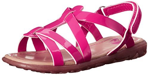 The Children's Place Canary Boardwalk Strappy Sandal (Toddler/Little Kid), Caddy Pink, 6 M US Toddler (Children Place Girls Sandals)