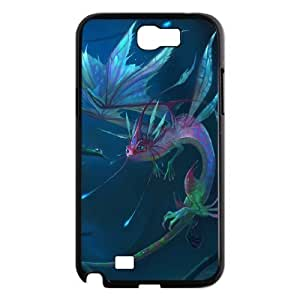Dragon Shell Phone for samsung galaxy note2 Black Cover Phone Case