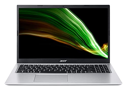 Acer Aspire 3 core i5 11th Generation Processor 15.6-inch Thin and Light Laptop – (8 GB/1 TB HDD+256GB SSD/Microsoft Office/Windows 10 Home/Intel Iris Xe Graphic/1.7Kg/Silver) A315-58