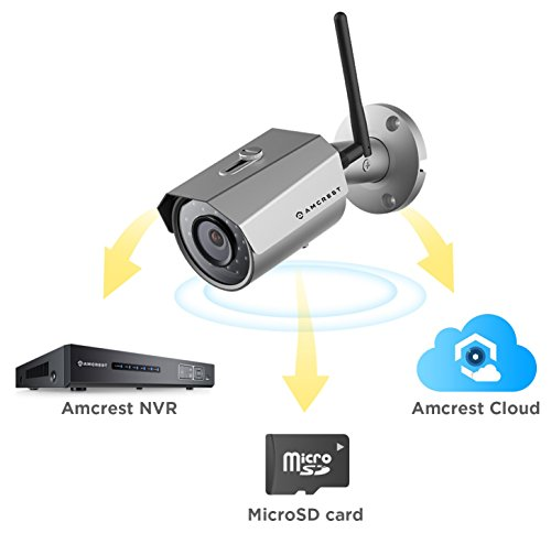 Amcrest 2k 3mp Wireless Outdoor Security Camera Prohd