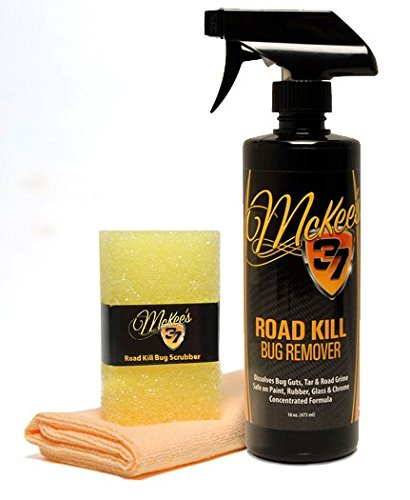McKee's 37 MK37-100950 Road Kill Bug Remover Combo Kit, 16 fl. oz