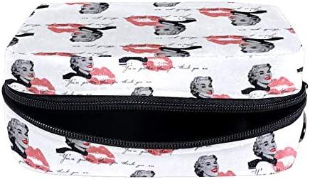 Bennigiry Marilyn Monroe - Neceser portátil para mujer y niña: Amazon.es: Belleza