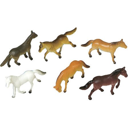 US Toy Mini Horses Action Figure (1 Dozen)