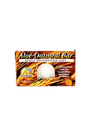 Rainbow Research Aloe Oatmeal Bar Soap, 4 Ounce - 6 per case. -