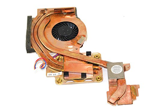 HK-part Replacement Fan For Lenovo Thinkpad T500 W500 series Cpu Cooling Fan Heatsink 45N5492 45N5493 (3 Wire) 3Pin Connector (T500 Thinkpad Series)