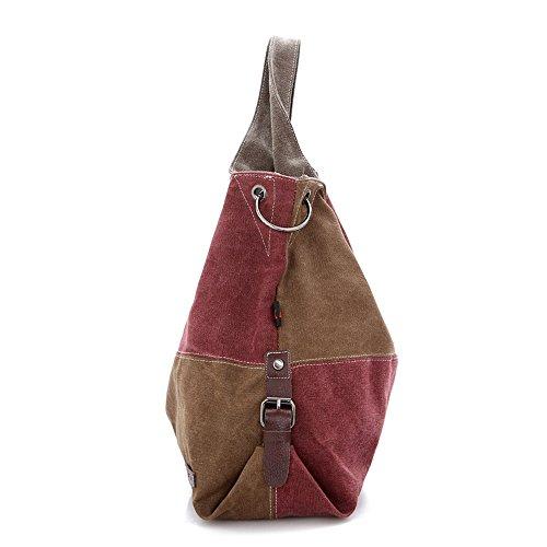 Bag à Grande Usage Un Hit Messenger Quotidien capacité rétro capacité de bandoulière Convient pour Occasionnels Grande Couleur Sac Asdflina qTtwO8T
