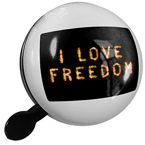 Small Bike Bell I Love Freedom Fire Explosion Fireworks - NEONBLOND by NEONBLOND