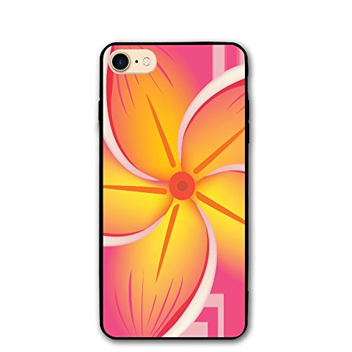 - PabcDef Hawaiian Flower Clip Art PC IPhone 8/8S IPhone 7 Case Dustproof Protective 3D Phone Case Slim Back Cover 4.7 Inch Soft Touch Feeling Durable Flexible Anti-Scratch