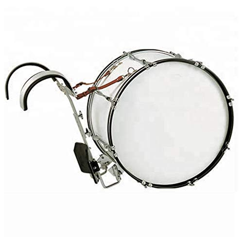 Customized Percussion good quality marching bass drum with aluminum alloy carrier