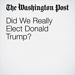 Did We Really Elect Donald Trump?