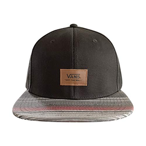 Vans Off The Wall UnisexSnapback Hat (Black Borderline, OS) from Vans