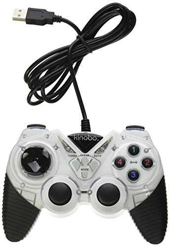 Kinobo USB Gamepad for PCs XP/Vista/Windows 7