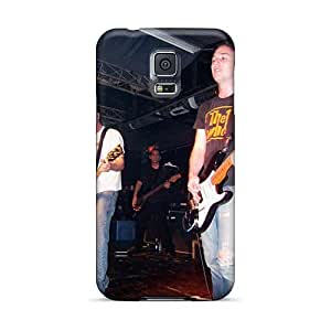 Bumper Hard Phone Case For Samsung Galaxy S5 (ofH13318Rxbz) Support Personal Customs Beautiful Red Hot Chili Peppers Skin