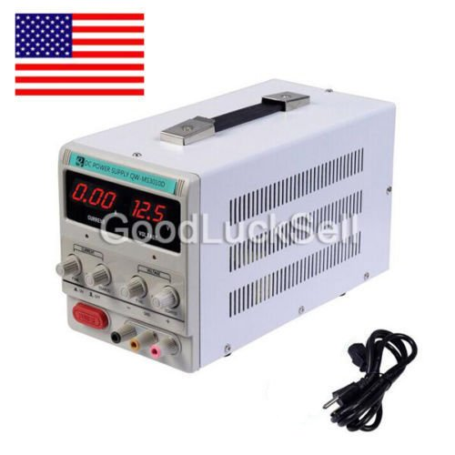 30V 10A 110V Precision Variable DC Power Supply Digital Adjustable UPS SHIP