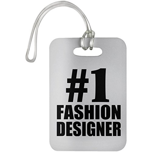 Number One #1 Fashion Designer - Luggage Tag, Suitcase Bag ID Tag