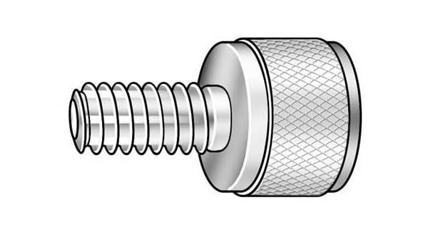 Thumb Screw knrl 1//4-20x1//2 L PK10