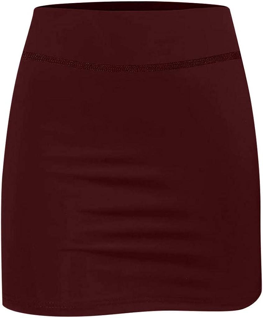 Yoga Golf CCatyam Womens Anti-Chafing Sports Skirt with Hidden Pocket,Lightweight Running Workout Skorts for Tennis