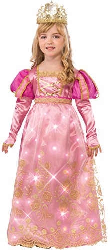 Rubie's Costume Rose Queen Child Costume, Medium (Halloween Costume Disney Princess)
