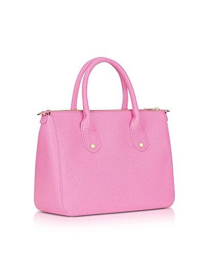 Furla Damen 921127 Rosa Leder Handtaschen