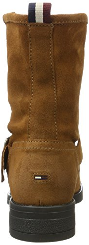 Tommy Jeans Women's A1385line 1b Slouch Boots Brown (Winter Cognac) SfzB6dlfA