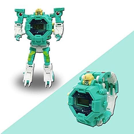 Relojes Infantiles para niños,Robot Toy Reloj electrónico niños: Amazon.es: Electrónica