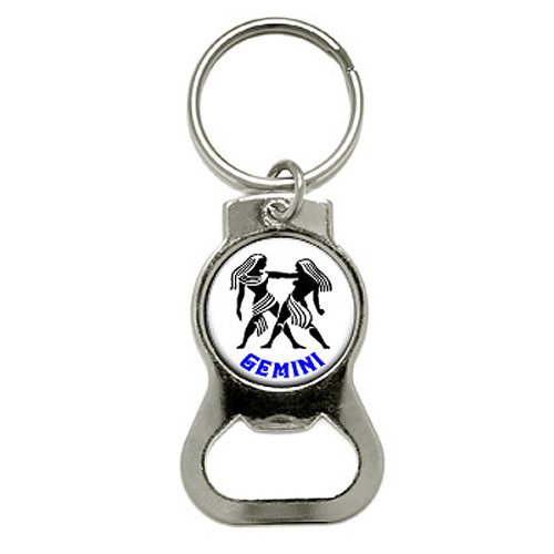 graphics-and-more-gemini-the-twins-zodiac-horoscope-bottle-cap-opener-keychain-kb0197