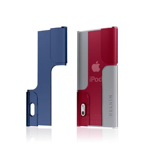 Belkin Twist (Belkin BodyGuard Hue Case for Apple iPod nano 5th Generation (Clear/Indigo/Chili Pepper))