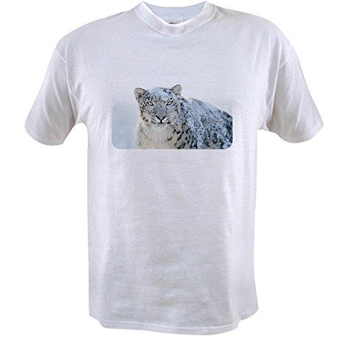T-shirt Value Snow - Royal Lion Value T-Shirt Snow Leopard HD - 3X