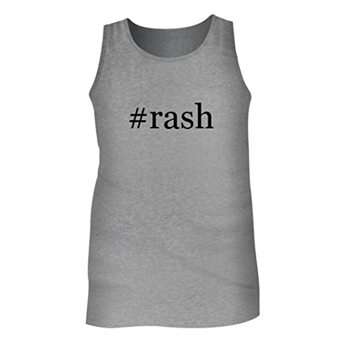 Tracy Gifts #Rash - Men's Hashtag Adult Tank Top, Heather, Small