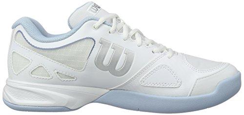 Tenis de para Carpet Mujer Blue Zapatillas Cashmere Evo Wilson Rush White Blanco W White xXE0aqpRYw
