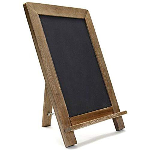 (Alta Rustic Wooden Framed Free Standing Chalkboard (16