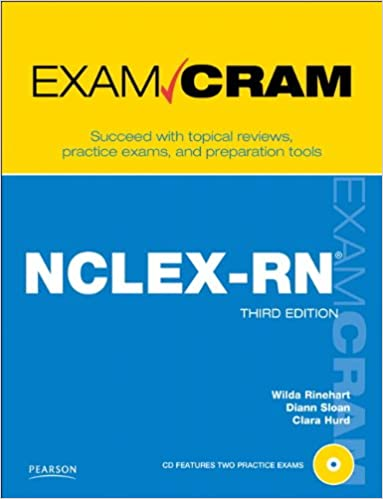 Nclex rn exam cram 3rd edition 9780789744821 medicine health nclex rn exam cram 3rd edition 9780789744821 medicine health science books amazon fandeluxe Gallery