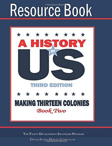 Making Thirteen Colonies Resource Book pdf