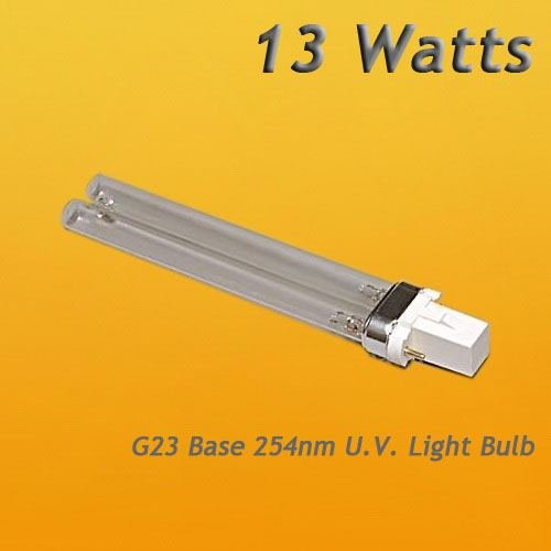 Bulb tube Size 13 Watt Germicidal UV Bulb G23 Base 13W JBJ - Hut Student