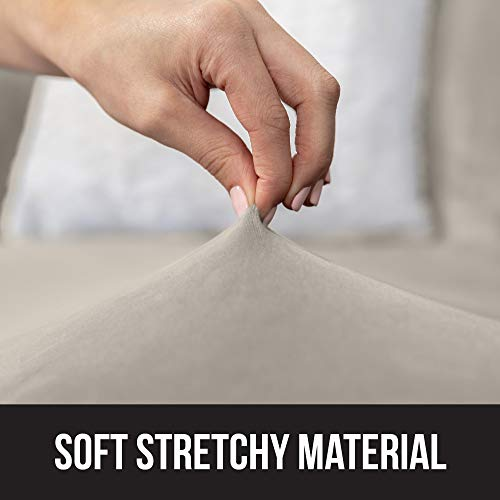 Astonishing Gorilla Grip Original Velvet Fitted 1 Piece Loveseat Slipcover Stretch Up To 54 Inches Velvety Covers Luxurious Couch Slip Cover Spandex Loveseats Andrewgaddart Wooden Chair Designs For Living Room Andrewgaddartcom