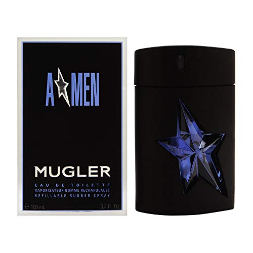 AMEN Eau De Toilette By Thierry Mugler Refillable Rubber Spray, 3.4 Fl. Oz. 3.4 Ounce Edt Refill