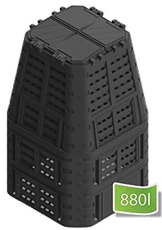 Wamat Compostador Rápido 420 – 880 L compostador termocompostador (compostador Bio.