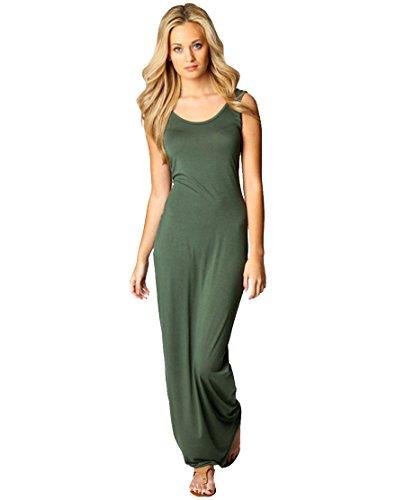 Schicke kleider in grun
