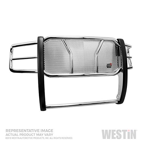 Westin-57-2370-HDX-Polished-Grille-Guard