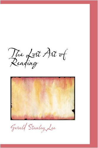 Read Online The Lost Art of Reading pdf