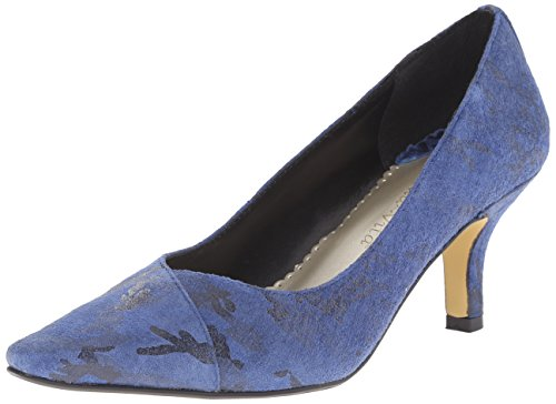 Bella Vita Womens Wow Pump Cobalto / Nero Camo