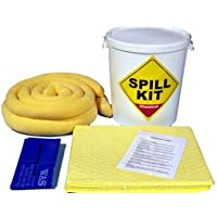 Kit de derrames químicos/universales de 34 litros en